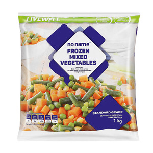 PnP No Name Frozen Mixed Vegetables 1kg