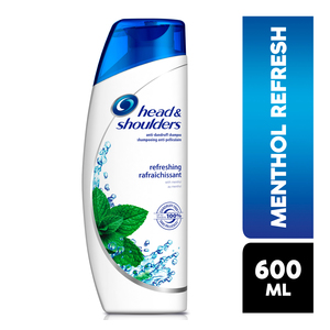Head & Shoulders Anti Dandruff Shampoo Menthol 600ml x 6