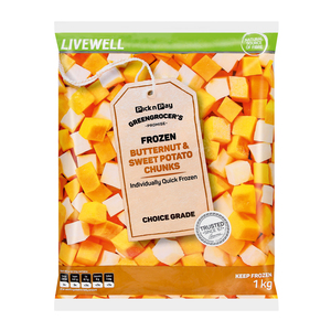 PnP Butternut And Sweet Potato Chunks 1kg