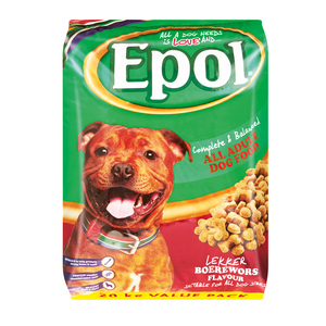 Epol Dog Food All Adult Dogs Boerewors Flavour 20kg