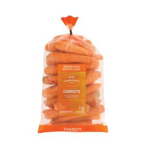 PnP Carrots Pack 3 KG
