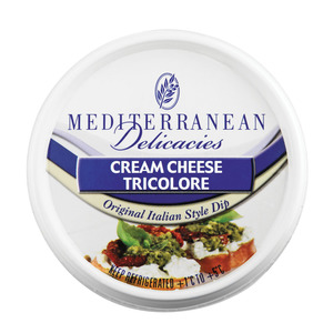 Mediterranean Cream Cheese Tricolour 125 g
