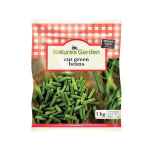 Natures Garden Cut Green Beans 1kg x 12
