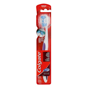 Colgate Toothbrush 360 Optic Whgite