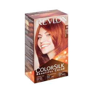 Colorsilk Hair Color Bright Auburn 45