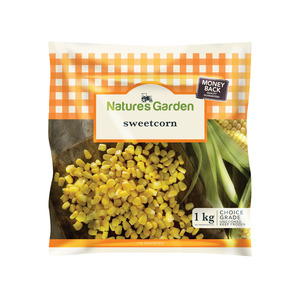 Natures Garden Sweetcorn 1kg