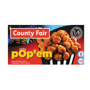 County Fair Chicken Popem 250gr