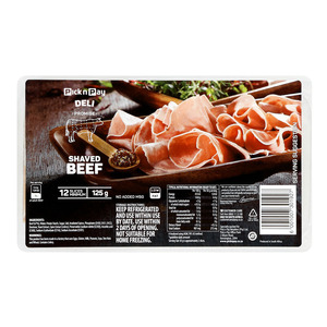 Pnp Shaved Beef 125g