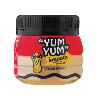 Yum Yum Smooth Peanut Butter 250g x 24