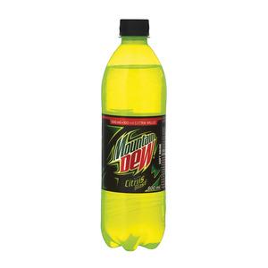Mountain Dew Plastic Bottle 600ml