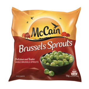 Mccain Brussels Sprouts 1kg
