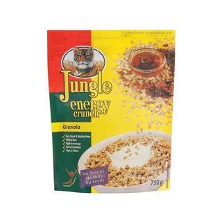 Jungle Energy Crunch Granola Muesli 750g x 12