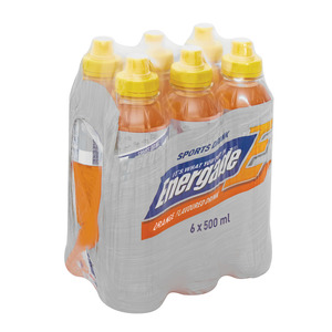 Energade Sports Drink Orange 500ml x6