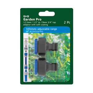 Garden Pro 12.5mm&19mm Adapter 2pc