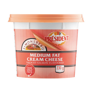 Simonsberg Smoked Salmon Flavoured Cream Cheese 230g