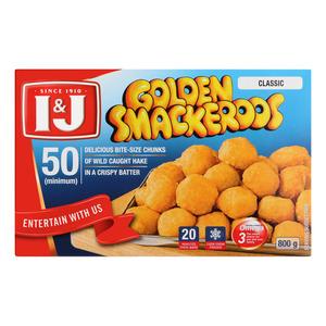 I&j Golden Smackeroos 800 GR
