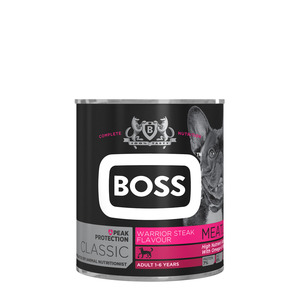 Boss Adult Warrior Steak 820g x 6