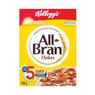 Kellogg's All Bran Flakes 750g x 12