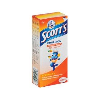 Scott's Orange Vitamin & Mineral Supplement 200ml x 12