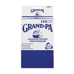 Grand-pa Headache Powders x 144