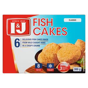 I&J Fish Cakes 300g