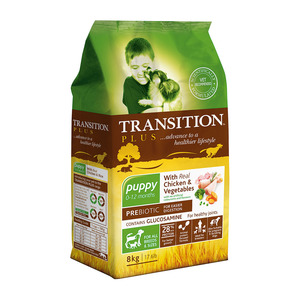 Transition Dogfood Senior Chicken 8 Kg