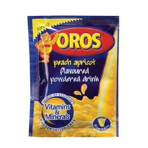 Oros Peach And Apricot Powder 35g