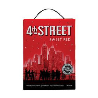 4th Street Sweet Red Wine 3 l x 6
