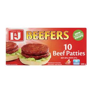 I&j Beefers Steakburgers 500 GR