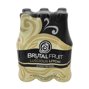 Brutal Fruit Litchi NRB 275 ml x 6