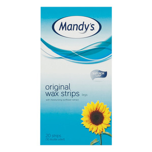 Mandys Wax Strip For The Legs 20ea