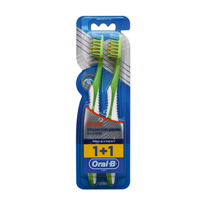 Oral B Toothbrush Pro Expert Anti Bacterial 40med 2ea
