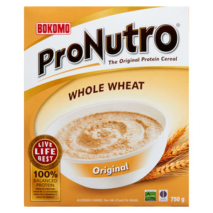 Bokomo Wholewheat Cereal 750g