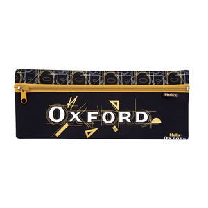 Oxford Neoprene Pencil Case 30x10cm Blck