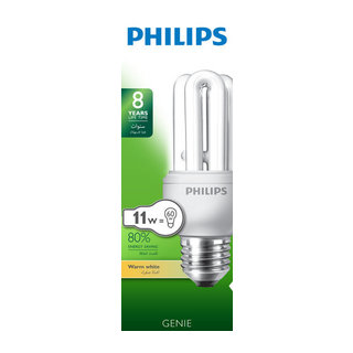 Philips Energy Save 11W Warm White Screw  In