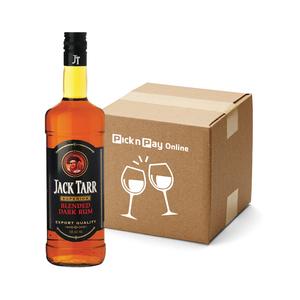 Jack Tar Dark Rum 750ml x 12