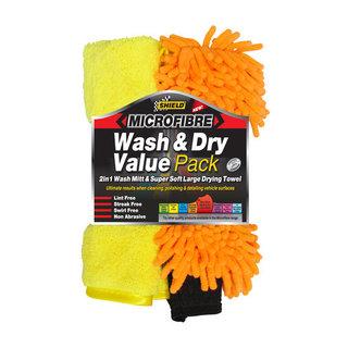 Shield Micro Fibre Wash & Dry Value Pack
