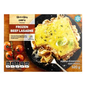 Pnp Beef Lasagne 320g
