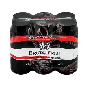 Brutal Fruit Mango Goji 440 ml  x 6