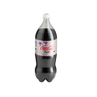 Coca-Cola Light Plastic Bottle 2l x 6