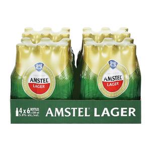 Amstel Lager Nrb 330 Ml X 24