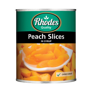 Rhodes Peach Slices 825g