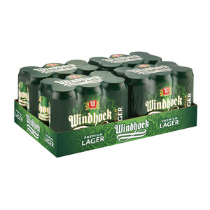 Windhoek Lager Can 440 ml x 6