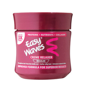 Easy Waves Regular Creme Hai r Relaxer 250 ML