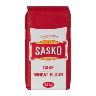 Sasko Cake Wheat Flour 2.5kg x 4