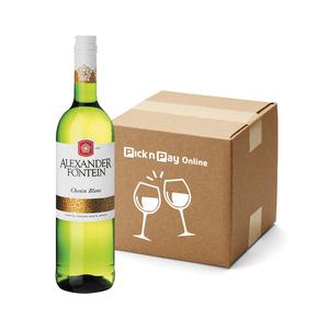 Alexanderfontein Chenin Blanc 750 ml  x 6