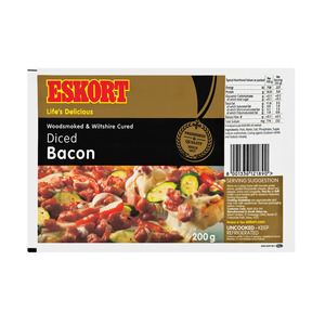Diced Bacon 200g