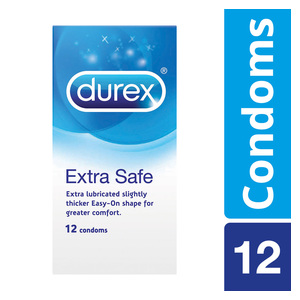 Durex Condoms Xtra Safe 12ea