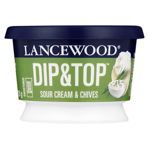 Lancewood Sour Cream and Chives Dip 175g