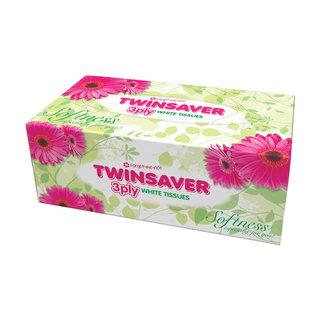 Twinsaver Facial Tissue Summer 120ea